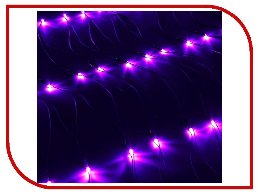 Гирлянда Luazon Сетка 1x0.7m LED-96-220V Violet 187203 гирлянда luazon дождь 2m 6m multicolor 671678