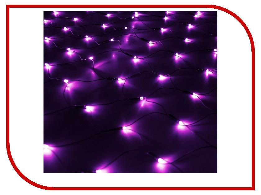 Гирлянда Luazon Сетка 1x0.9m LED-120-220V Violet 187215 гирлянда luazon дождь 2m 6m multicolor 671678
