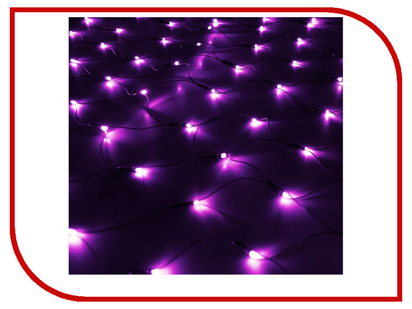 Гирлянда Luazon Сетка 1x0.9m LED-120-220V Violet 187215 480w high power led uv led violet 6565 365nm 385nm 395nm 56 118mm board