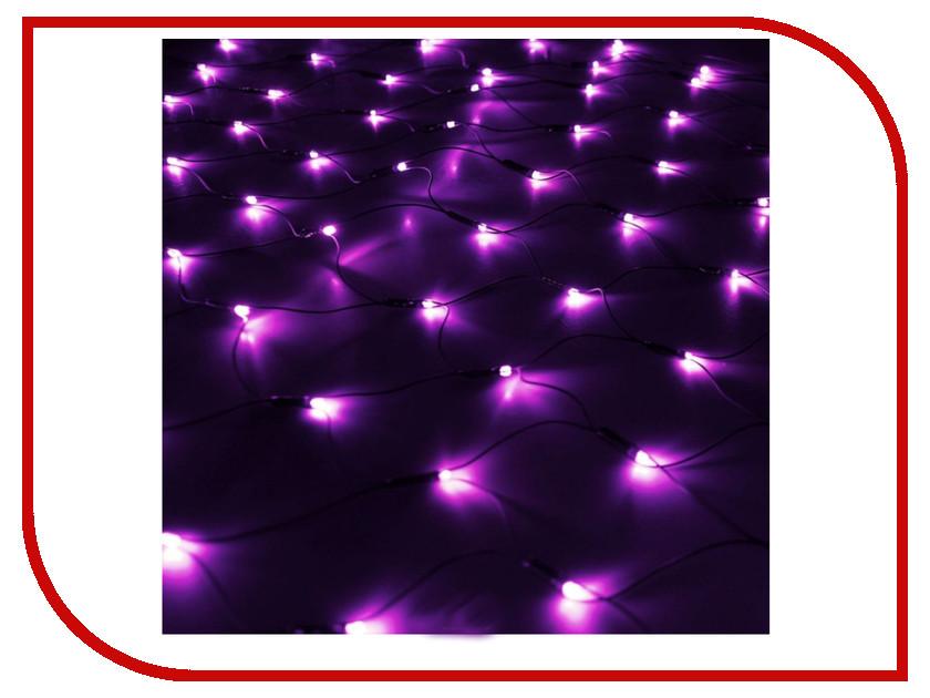 Гирлянда Luazon Сетка 1.2x1.1m LED-144-220V Violet 187227 гирлянда luazon дождь 2m 6m multicolor 671678