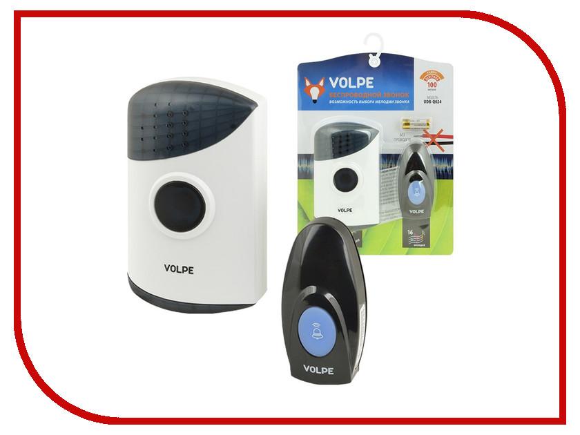 Звонок дверной Volpe UDB-Q024 W-R1T1-16S-100M-WH White звонок дверной navigator 61 276 ndb d dc05 1v2 wh