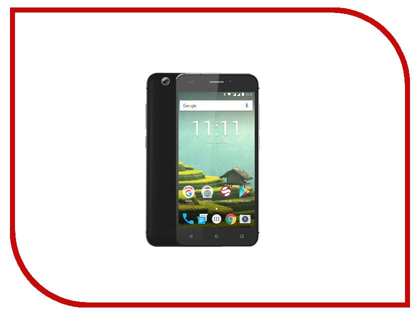 Сотовый телефон Senseit T100 Black сотовый телефон archos sense 55dc 503438