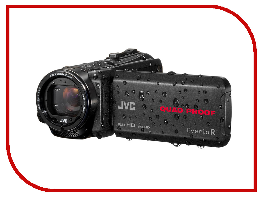 Zakazat.ru: Видеокамера JVC Everio GZ-R430BEU