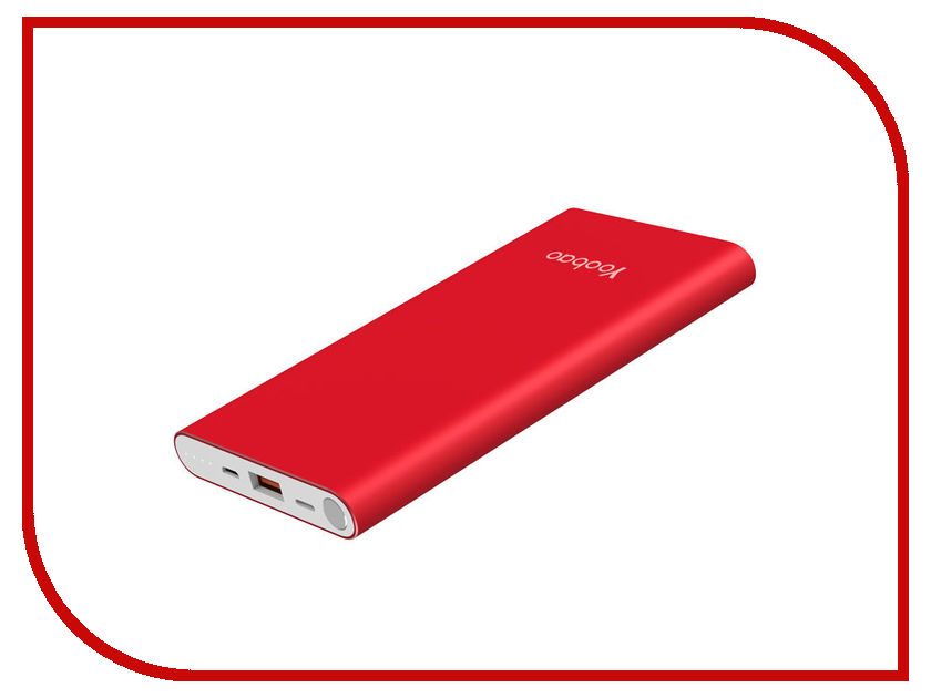 Аккумулятор Yoobao Power Bank A1 Air 10000mAh Red