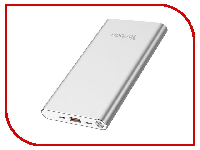 Аккумулятор Yoobao Power Bank A1 Air 10000mAh Silver