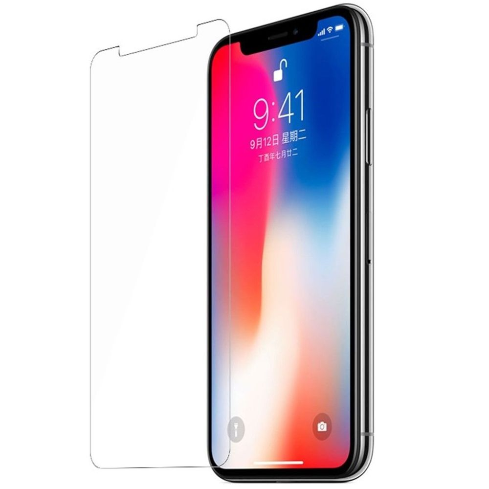 Защитное стекло Brosco для APPLE iPhone X 0.3mm IPX-HARD-GLASS