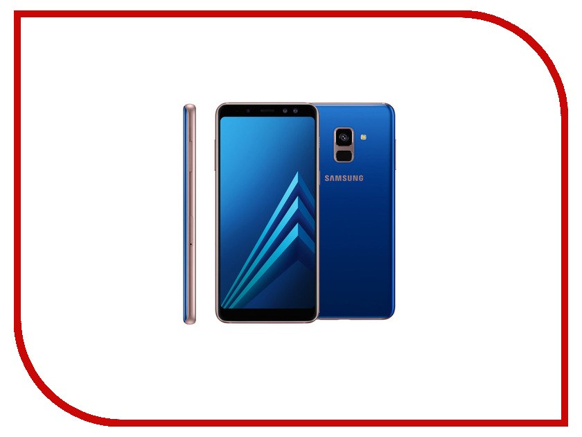 Сотовый телефон Samsung SM-A530F Galaxy A8 2018 Blue смартфон samsung sm a530f galaxy a8 2018 32gb black