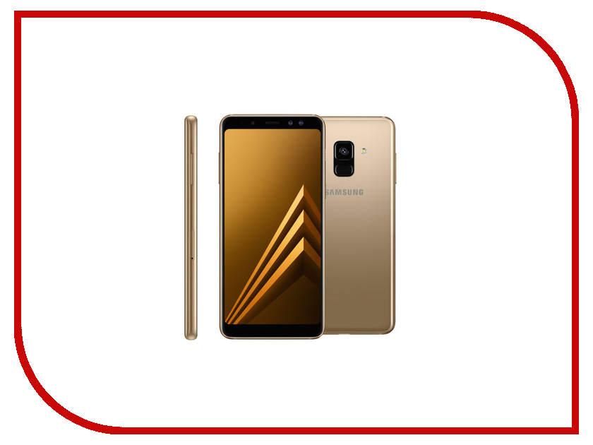 Сотовый телефон Samsung SM-A530F Galaxy A8 2018 Gold смартфон samsung sm a530f galaxy a8 2018 32gb black