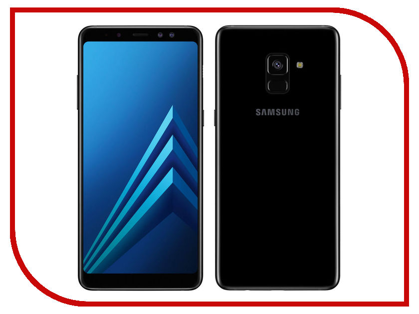 Сотовый телефон Samsung SM-A730F Galaxy A8 Plus 2018 Black сотовый