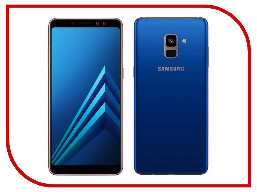 Сотовый телефон Samsung SM-A730F Galaxy A8 Plus 2018 Blue сотовый