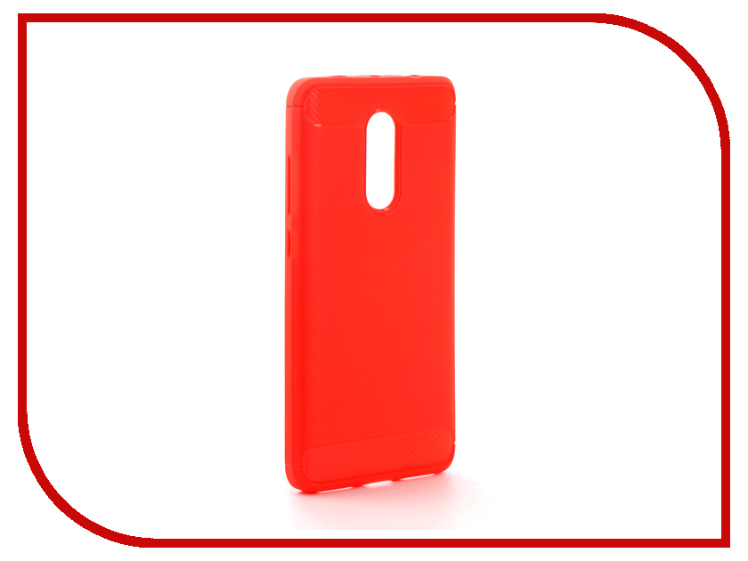 Аксессуар Чехол Xiaomi Redmi Note 4X Activ The Ultimate Experience Carbon Red 78430 аксессуар чехол накладка micromax canvas viva a106 activ silicone black mat 46857