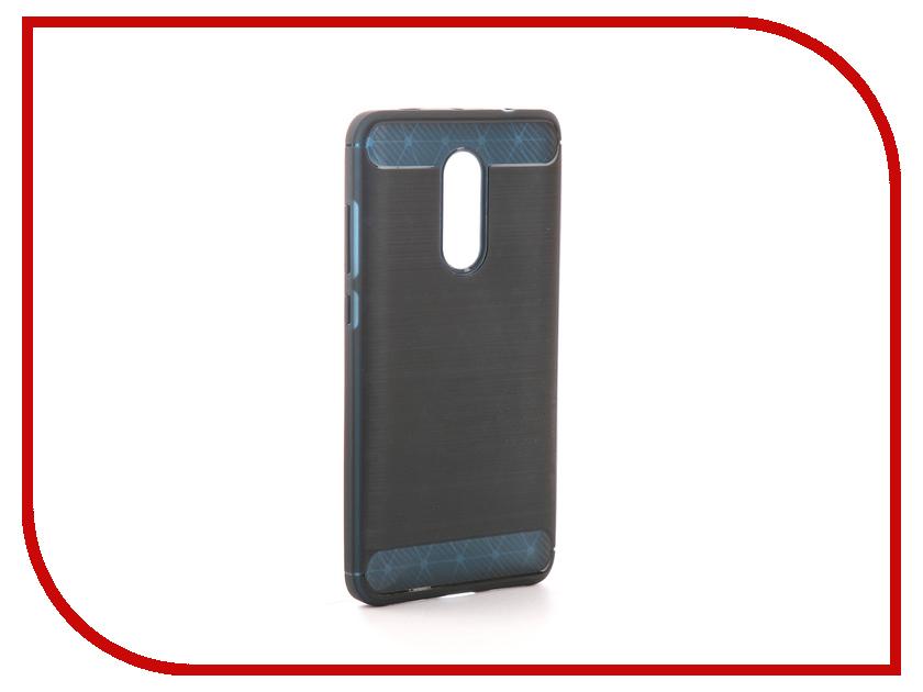 Аксессуар Чехол Xiaomi Redmi Note 4X Activ The Ultimate Experience Carbon Blue 78429 аксессуар чехол накладка micromax canvas viva a106 activ silicone black mat 46857