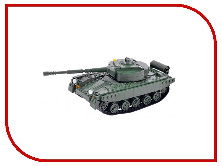 Конструктор Shantou Gepai Танк T-72M1 346 дет. HD018 игрушка shantou gepai танк 369 32
