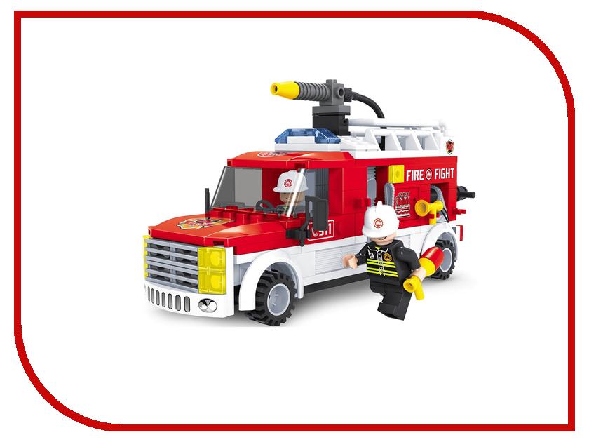 Конструктор Ausini Пожарные 207 дет. 21502 ausini 20209 поезд