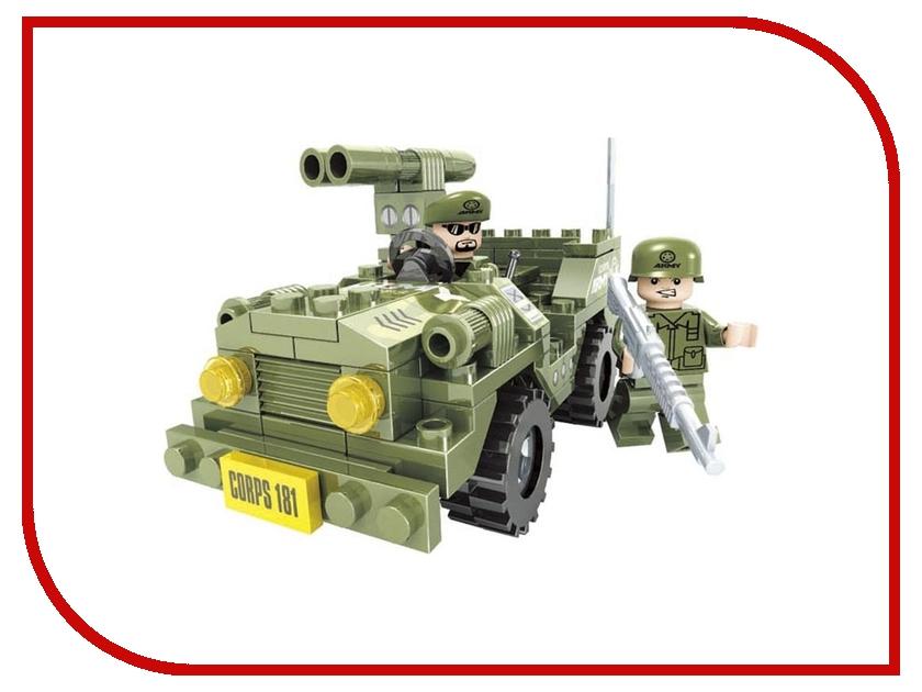 Конструктор Ausini Военные 118 дет. 22403 кордщетка атака 22403