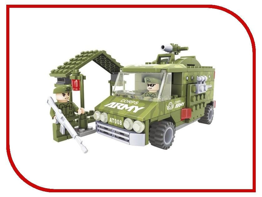 Конструктор Ausini Военные 166 дет. 22407