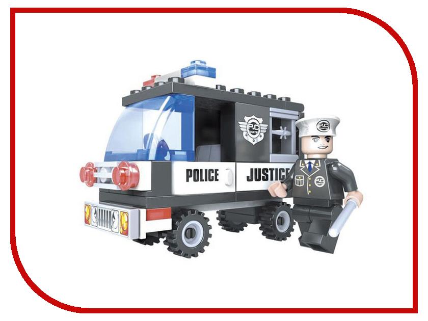 Конструктор Ausini Полиция 58 дет. 23201 конструктор gudi полиция 256 дет 9315