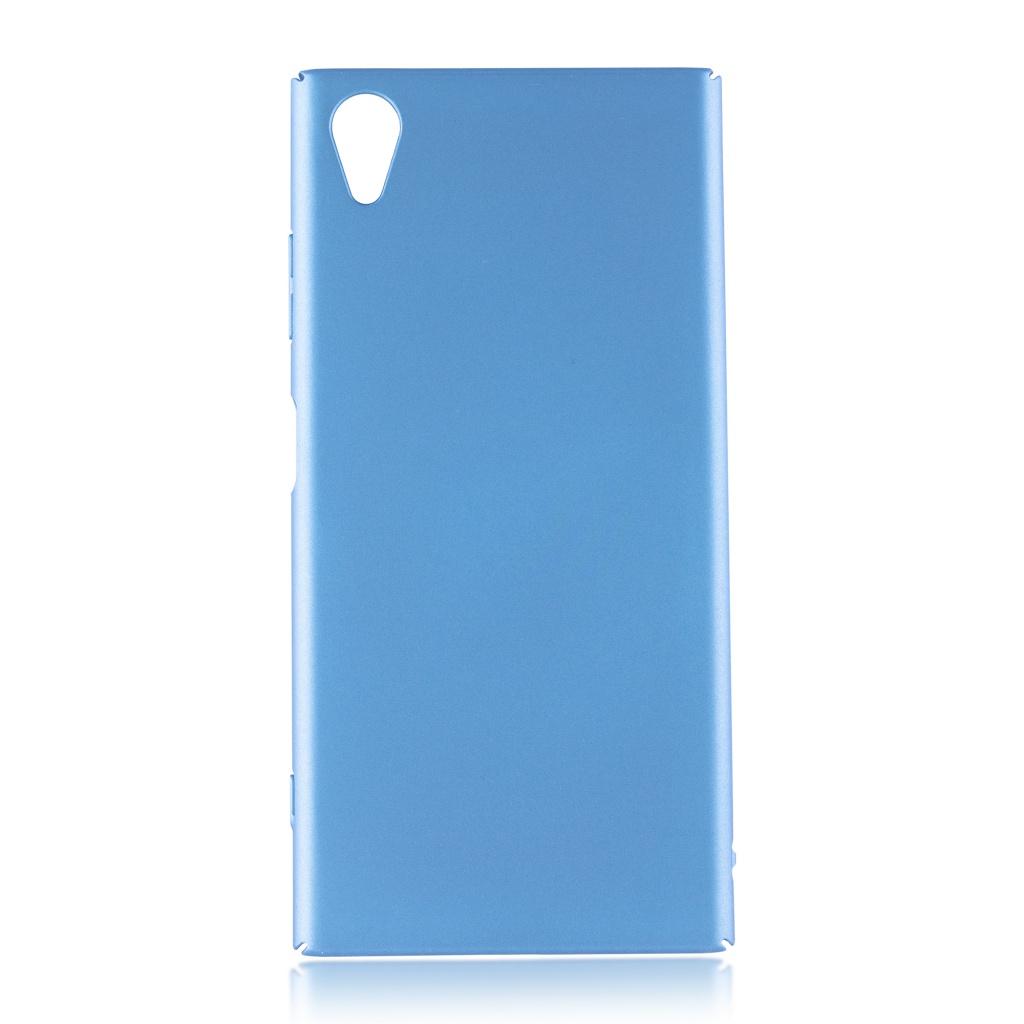 Аксессуар Чехол Brosco для Sony Xperia XA1 Plus Blue XA1P-4SIDE-ST-BLUE