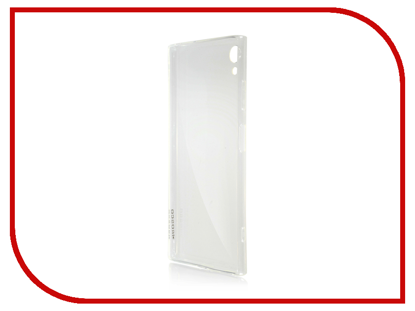 Аксессуар Чехол для Sony Xperia XA1 Plus BROSCO Silicone Transparent XA1P-TPU-TRANSPARENT аксессуар чехол для samsung galaxy s8 plus brosco transparent ss s8p tpu transparent