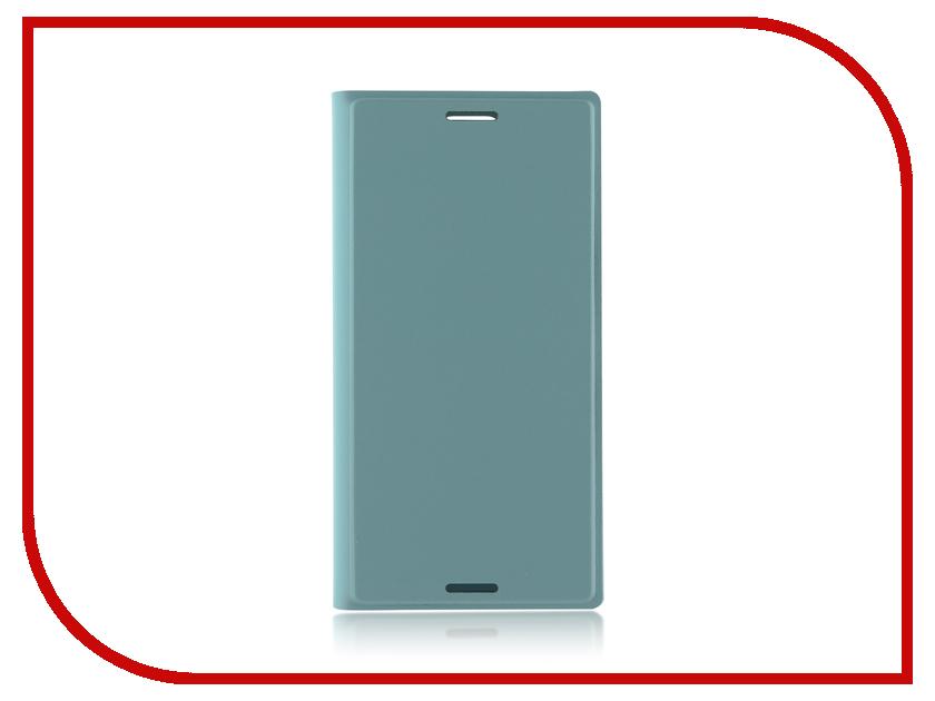 Аксессуар Чехол Sony Xperia XZ1 Compact BROSCO PU Blue XZ1C-BOOK-BLUE