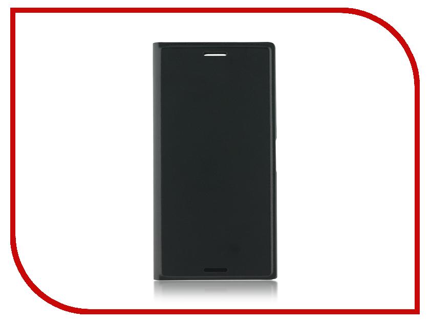 Фото Аксессуар Чехол Sony Xperia XZ1 Compact BROSCO PU Black XZ1C-BOOK-BLACK
