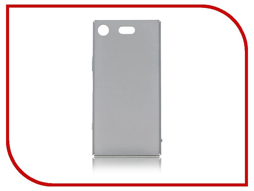 Аксессуар Чехол Sony Xperia XZ1 Compact BROSCO Silver XZ1C-4SIDE-ST-SILVER чистящее средство для духовых шкафов bon 500 мл