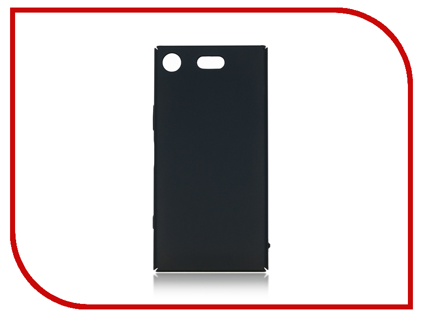 Аксессуар Чехол для Sony Xperia XZ1 Compact BROSCO Black XZ1C-4SIDE-ST-BLACK аксессуар чехол для xiaomi redmi note 4 brosco softtouch black xm rn4 softtouch black xm rn4 4side st black