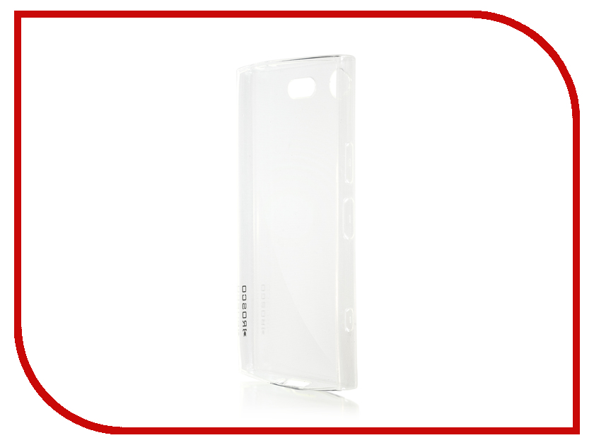 Аксессуар Чехол Sony Xperia XZ1 Compact BROSCO Silicone Transparent XZ1C-TPU-TRANSPARENT аксессуар чехол sony xperia xz ibox crystal silicone transparent