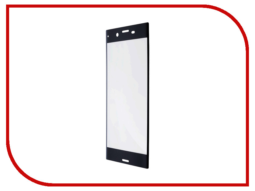 Аксессуар Защитное стекло для Sony Xperia XZ1 Compact BROSCO Full Screen Black XZ1C-GLASS-BLACK full new for sony xperia x lcd display screen touch glass digitizer assembly replacement parts free tools