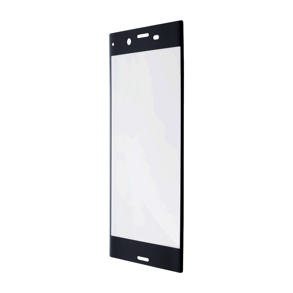 Аксессуар Защитное стекло Brosco для Sony Xperia XZ1 Compact Full Screen Black XZ1C-GLASS-BLACK