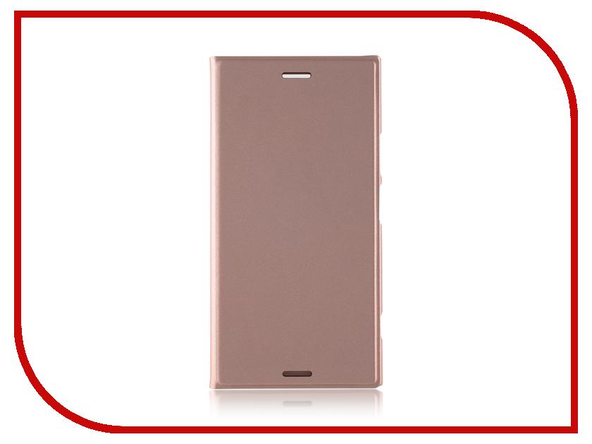 Аксессуар Чехол Sony Xperia XZ1 BROSCO PU Pink XZ1-BOOK-PINK защитное стекло onext для apple iphone 7 plus глянцевое