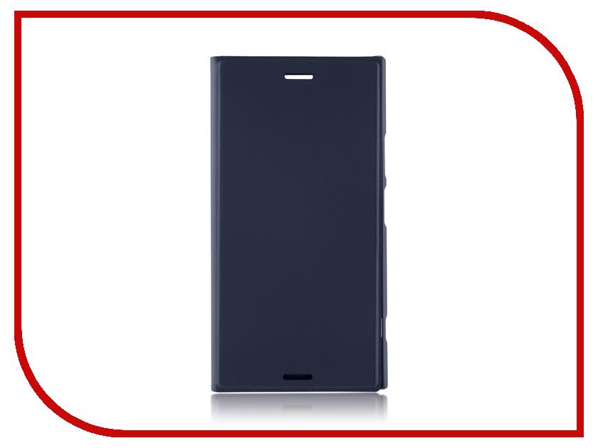 Аксессуар Чехол Sony Xperia XZ1 BROSCO PU Blue XZ1-BOOK-BLUE