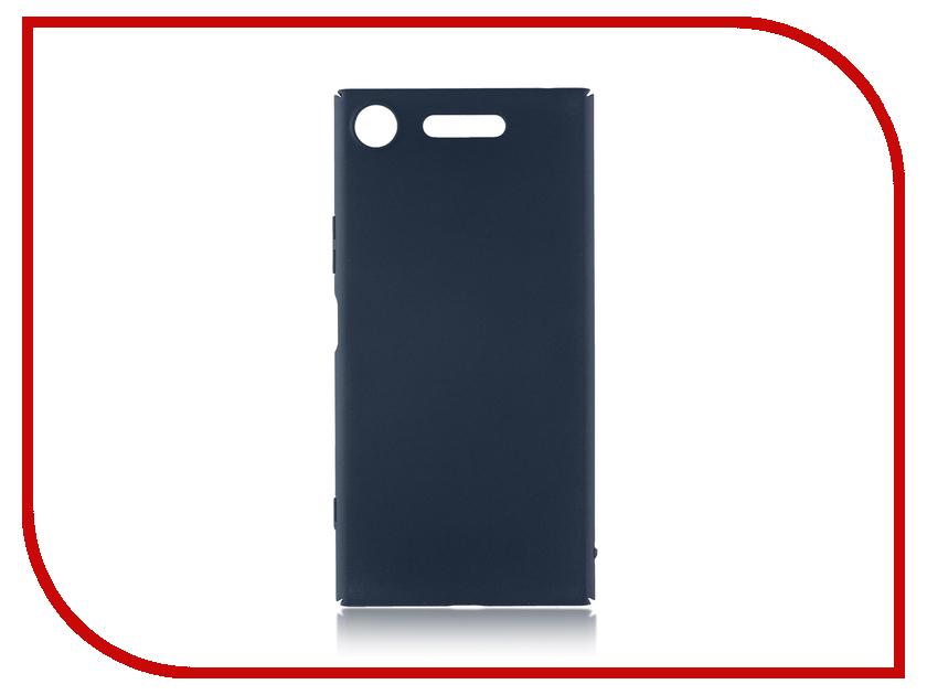 Аксессуар Чехол Sony Xperia XZ1 BROSCO Blue XZ1-4SIDE-ST-BLUE аксессуар чехол флип dexp ixion es150 blue
