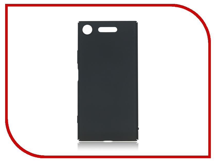 Аксессуар Чехол Sony Xperia XZ1 BROSCO Black XZ1-4SIDE-ST-BLACK аксессуар чехол sony xperia xa1 ultra brosco black xa1u 4side st black