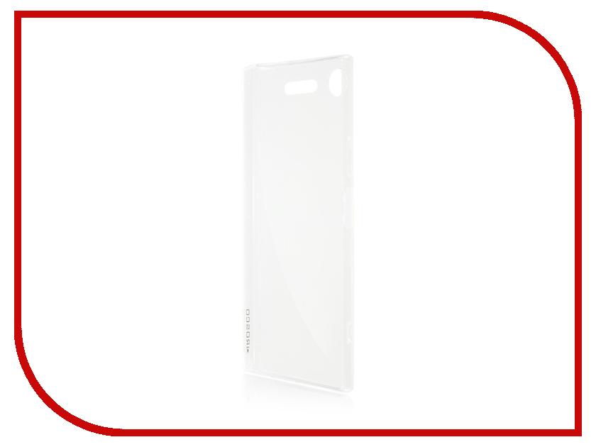 Аксессуар Чехол Sony Xperia XZ1 BROSCO Silicone Transparent XZ1-TPU-TRANSPARENT аксессуар чехол sony xperia xz ibox crystal silicone transparent