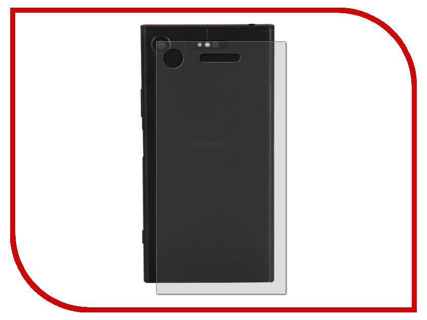 Аксессуар Защитная пленка Sony Xperia XZ1 BROSCO Carbon Back XZ1-SP-BACK-CARBON пленка на заднюю часть brosco пленка задняя карбон