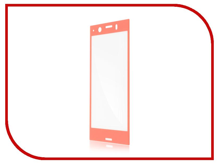 Аксессуар Защитное стекло для Sony Xperia XZ1 BROSCO 3D Full Screen Pink XZ1-3D-FS-GLASS-PINK аксессуар защитное стекло для sony xperia xz1 brosco full screen black xz1 glass black