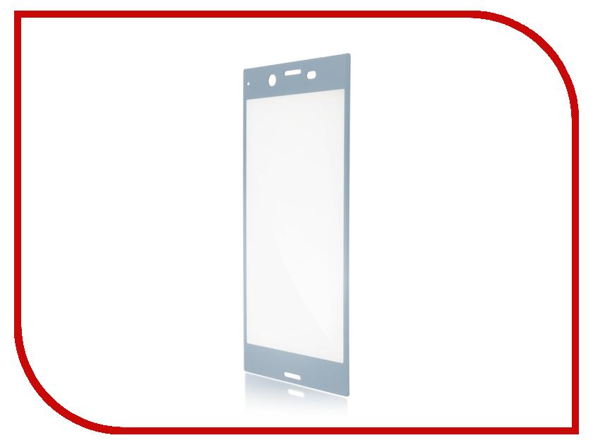 Аксессуар Защитное стекло для Sony Xperia XZ1 BROSCO 3D Full Screen Blue XZ1-3D-FS-GLASS-BLUE аксессуар защитное стекло sony xperia xa1 plus brosco 0 3mm blue xa1p 3d glass blue