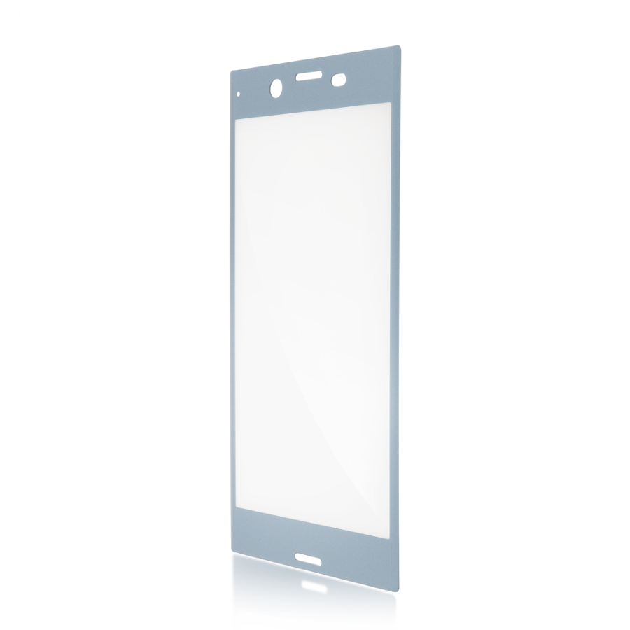 Аксессуар Защитное стекло для Sony Xperia XZ1 Brosco 3D Full Screen Blue XZ1-3D-FS-GLASS-BLUE