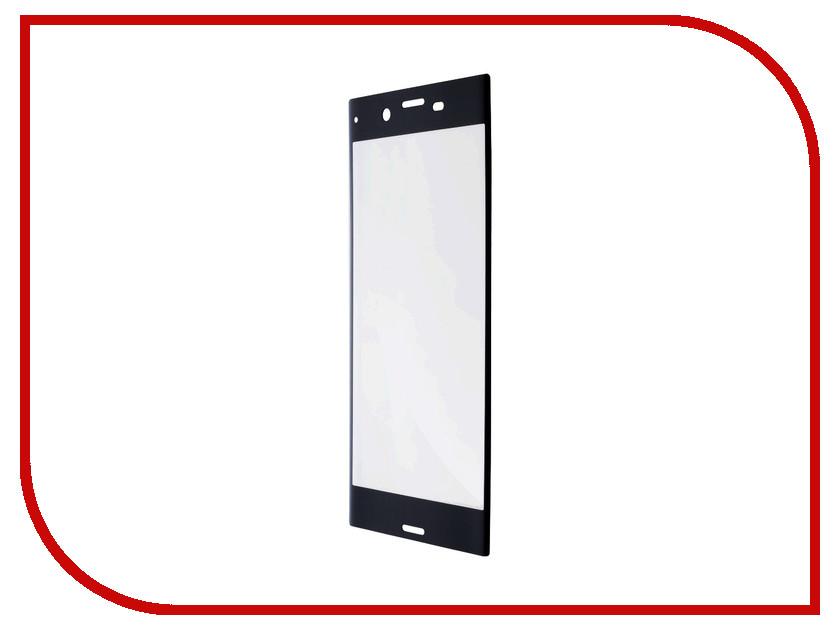 Аксессуар Защитное стекло для Sony Xperia XZ1 BROSCO 3D Full Screen Black XZ1-3D-FS-GLASS-BLACK аксессуар защитное стекло sony xperia xa1 plus brosco 0 3mm black xa1p 3d glass black