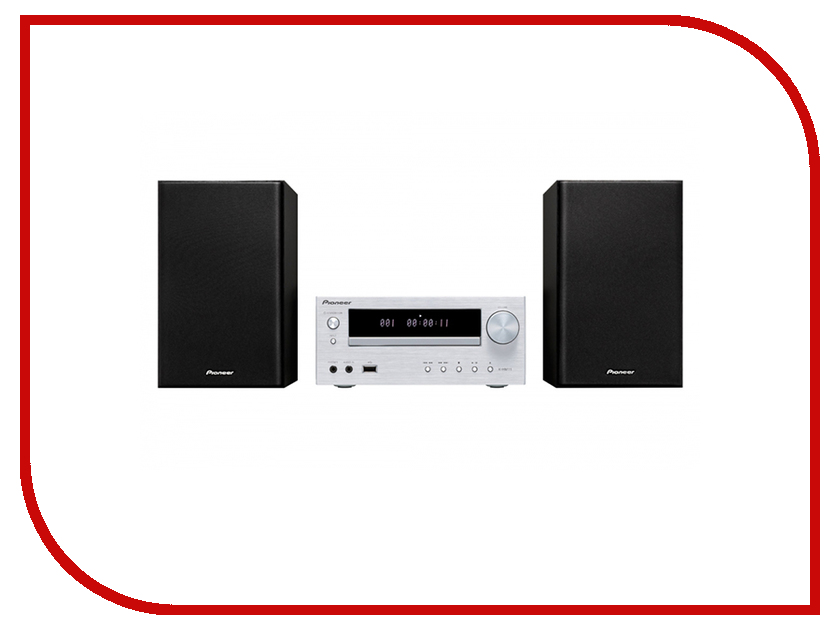 Минисистема Pioneer X-HM26-S минисистема cd pioneer x cm56 brown
