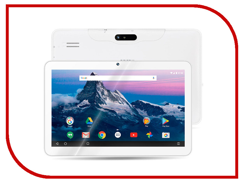 Планшет Ginzzu GT-1015 White (Spreadtrum SC7731 1.3 GHz/1024Mb/8Gb/GPS/3G/Wi-Fi/Bluetooth/Cam/10.1/1024x600/Android) планшет dexp ursus 7mv4 3g black 0807193 spreadtrum 5735 1 2 ghz 1024mb 8gb wi fi 3g bluetooth gps cam 7 0 1024x600 android