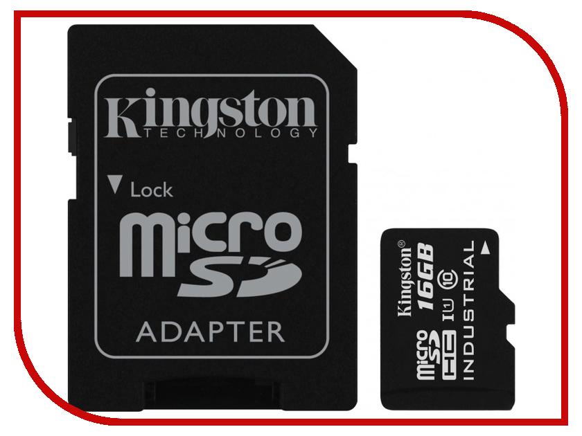 Карта памяти 16Gb - Kingston MicroSDHC Class 10 SDCIT/16GB карта памяти smartbuy microsdhc 16gb class 10 адаптер черный