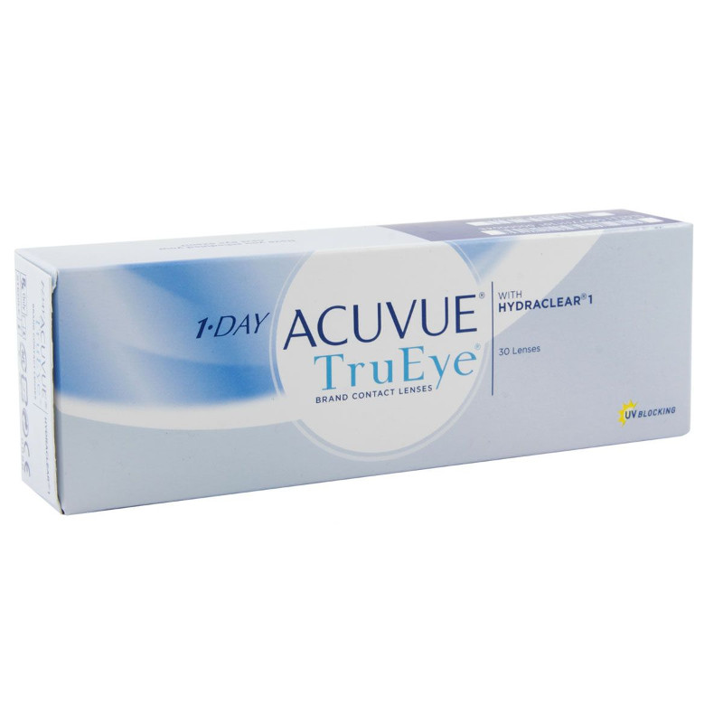 Контактные линзы Johnson & Johnson 1-Day Acuvue TruEye (30 линз / 8.5 / -3.25)