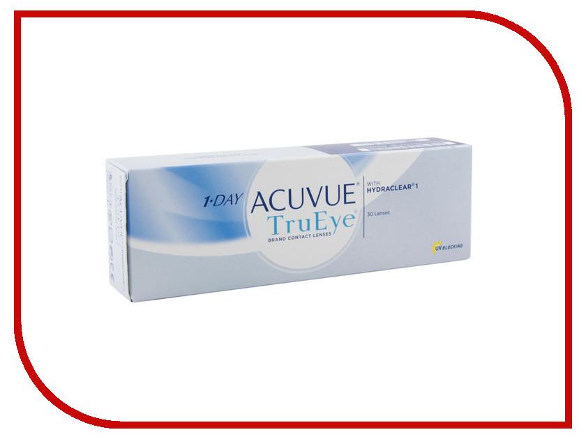 Контактные линзы Johnson & Johnson 1-Day Acuvue TruEye (30 линз / 8.5 / -3.75) контактные линзы johnsonjohnson 1 day acuvue trueye 90 шт r 8 5 d 10 0