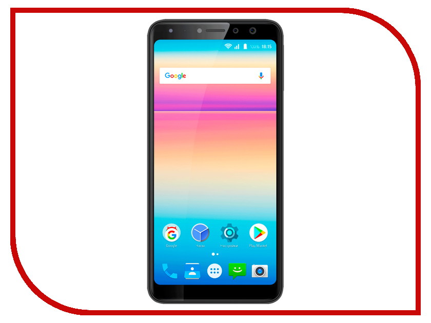 Сотовый телефон BQ 5700L Space X Black смартфон bq mobile space x black bq 5700l
