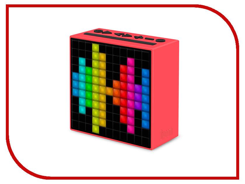 Колонка Divoom TimeBox Red колонка divoom voombox outdoor 2nd generation black