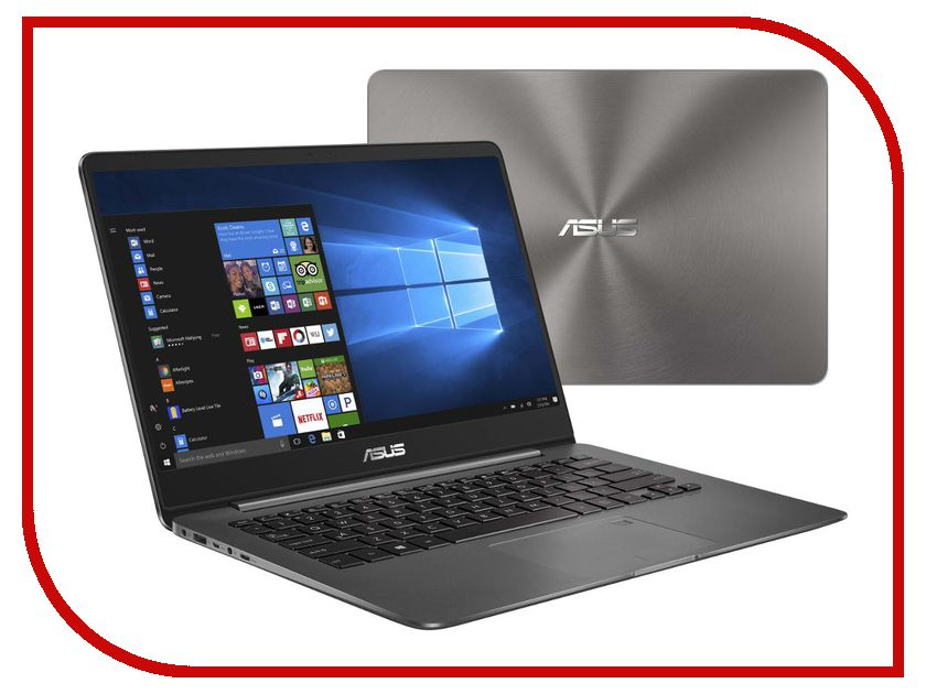 Ноутбук ASUS UX430UN-GV060T 90NB0GH1-M02810 (Intel Core i7-8550U 1.8 GHz/16384Mb/512Gb SSD/No ODD/nVidia GeForce MX150 2048Mb/Wi-Fi/Bluetooth/Cam/14.0/1920x1080/Windows 10 64-bit) ноутбук asus zenbook ux430un gv135t 90nb0gh1 m02820