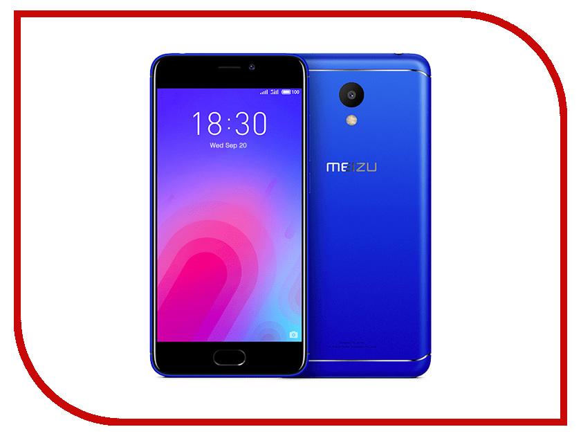 Сотовый телефон Meizu M6 32Gb Blue сотовый телефон senseit t100 black