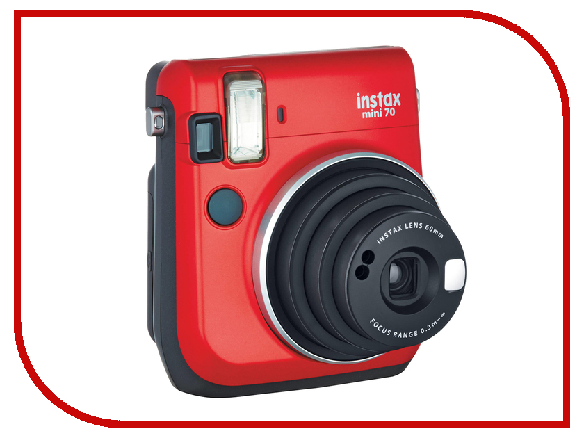 Фотоаппарат Fujifilm 70 Instax Mini Red fujifilm instax mini 70